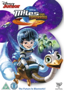 Miles from Tomorrow: Let's Rocket, DVD DVD