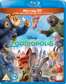 Zootropolis, Blu-ray BluRay