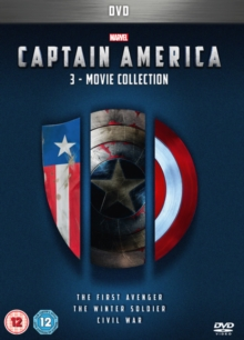 Captain America: 3-movie Collection, DVD DVD