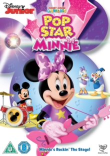Mickey Mouse Clubhouse: Pop Star Minnie, DVD DVD