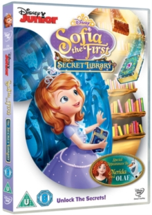 Sofia the First: The Secret Library, DVD DVD