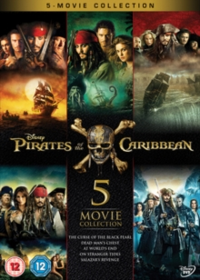 Pirates of the Caribbean: 5-movie Collection, DVD DVD