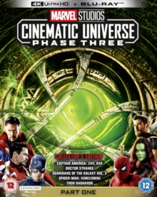 Marvel Studios Cinematic Universe: Phase Three - Part One, Blu-ray BluRay