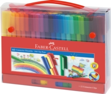 Faber Castell Connector Fibre Pens Pack of 60,  Book