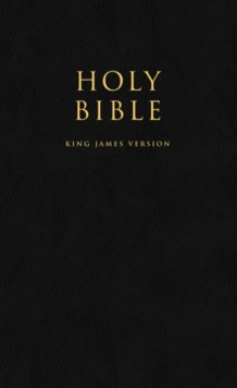HOLY BIBLE: King James Version (KJV) Popular Gift & Award Black Leatherette Edition, Paperback / softback Book