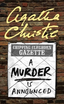 A Murder is Announced, Paperback Book