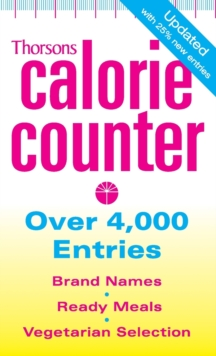 Thorsons Calorie Counter, Paperback Book