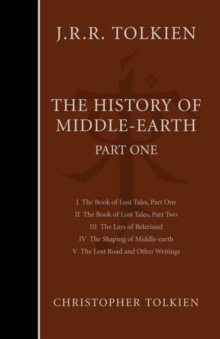The History of Middle-earth : Part 1, Hardback Book