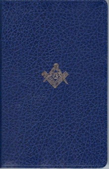 The Masonic Bible : King James Version (KJV), Leather / fine binding Book