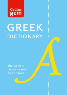 Collins Gem Greek Dictionary, Paperback Book