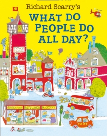 What Do People Do All Day?, Paperback / softback Book