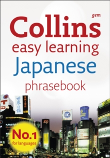 Collins Gem Japanese Phrasebook and Dictionary, Paperback Book