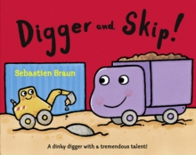 Digger And Skip, Paperback Book