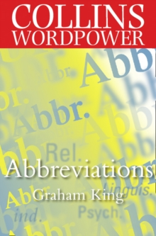 Abbreviations: The complete guide to abbreviations and acronyms (Collins Word Power), EPUB eBook