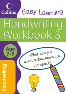 Handwriting Age 7-9 Workbook 3 : Workbook 3, Paperback Book