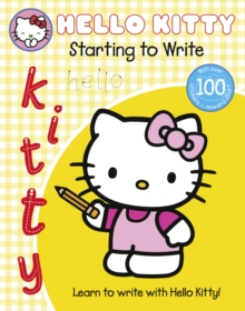 Learn with Hello Kitty: Starting to Write, Paperback Book