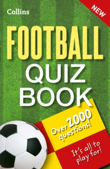 Collins Football Quiz Book, Paperback Book