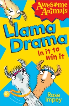Llama Drama - In it to Win It!, Paperback Book