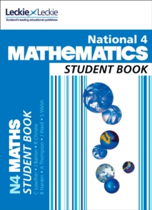 National 4 Mathematics Student Book, Paperback Book
