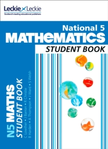 National 5 Mathematics Student Book, Paperback Book