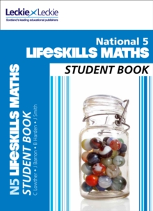 National 5 Lifeskills Maths Student Book, Paperback Book