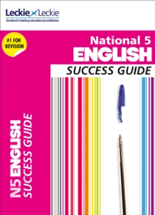 National 5 English Success Guide, Paperback Book