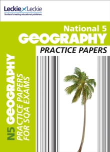 National 5 Geography Practice Papers for SQA Exams, Paperback Book