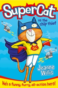 Supercat vs The Chip Thief, Paperback Book