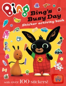 Bing's Busy Day Sticker Activity Book, Paperback Book