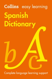 Easy Learning Spanish Dictionary, Paperback Book