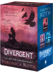 Divergent Series Boxed Set (books 1-3), Paperback Book