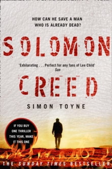 Solomon Creed : The Only Thriller You Need to Read This Year, Paperback Book