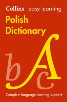 Collins Easy Learning Polish Dictionary, Paperback Book
