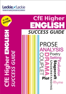 CfE Higher English Success Guide, Paperback Book