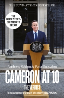 Cameron at 10 : The Verdict, Paperback Book