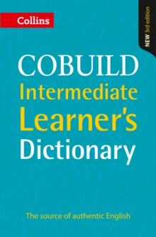Collins COBUILD Intermediate Learner's Dictionary, Paperback Book