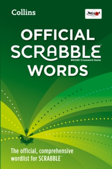 Collins Official Scrabble Words : The Official, Comprehensive Wordlist for Scrabble (TM), Paperback / softback Book