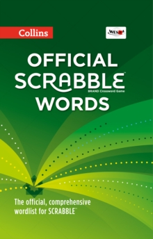 Collins Official Scrabble Words, Hardback Book