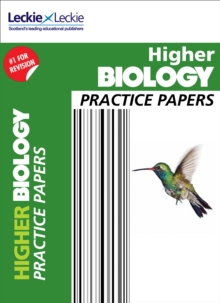 CfE Higher Biology Practice Papers for SQA Exams, Paperback / softback Book