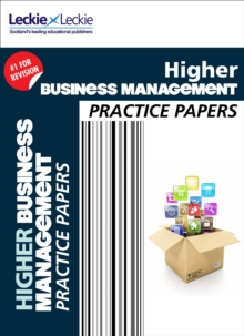 CfE Higher Business Management Practice Papers for SQA Exams, Paperback Book