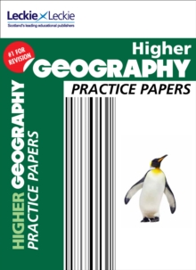 CfE Higher Geography Practice Papers for SQA Exams, Paperback Book