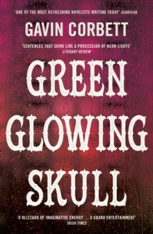 Green Glowing Skull, Paperback Book