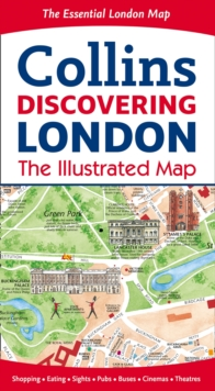 Discovering London Illustrated Map, Sheet map, folded Book