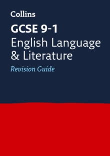 GCSE English Language and English Literature Revision Guide, Paperback Book