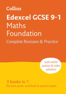 Edexcel GCSE 9-1 Maths Foundation All-in-One Complete Revision and Practice : For the 2020 Autumn & 2021 Summer Exams, Paperback / softback Book