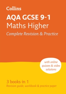 AQA GCSE 9-1 Maths Higher All-in-One Revision and Practice, Paperback / softback Book