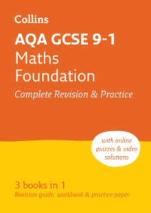 AQA GCSE 9-1 Maths Foundation All-in-One Revision and Practice, Paperback / softback Book