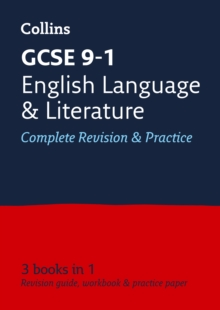 GCSE English Language and English Literature All-in-One Revision and Practice, Paperback Book
