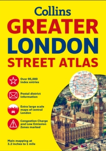 Greater London Street Atlas, Paperback Book