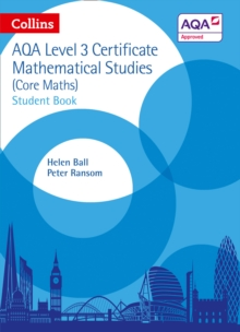 AQA Level 3 Mathematical Studies Student Book, Paperback Book